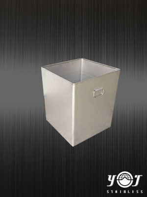 Stainless steel square barrel - TJ-161296 -  YJ stainless