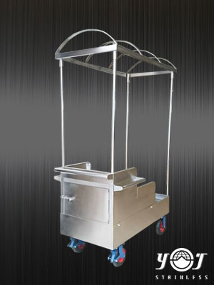 Stainless steel cart - TJ-170109 - YJ stainless