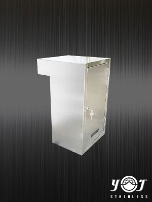 Stainless steel mailbox - TJ-170115 -  YJ stainless