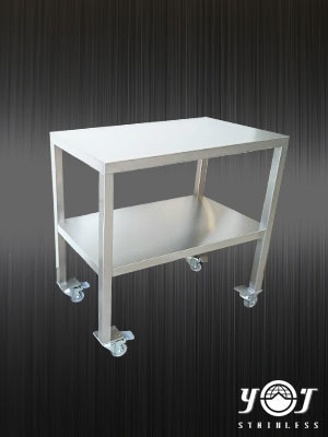 Stainless steel single work table - TJ-1612100 - YJ stainless