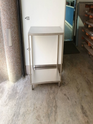 Stainless steel double working table - TJ-170158 - YJ Stainless