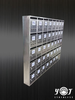 Stainless steel mailbox - TJ-170129  - YJ stainless