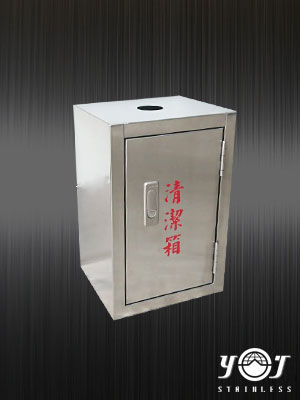 Stainless trash can - TJ-170308 - YJ stainless