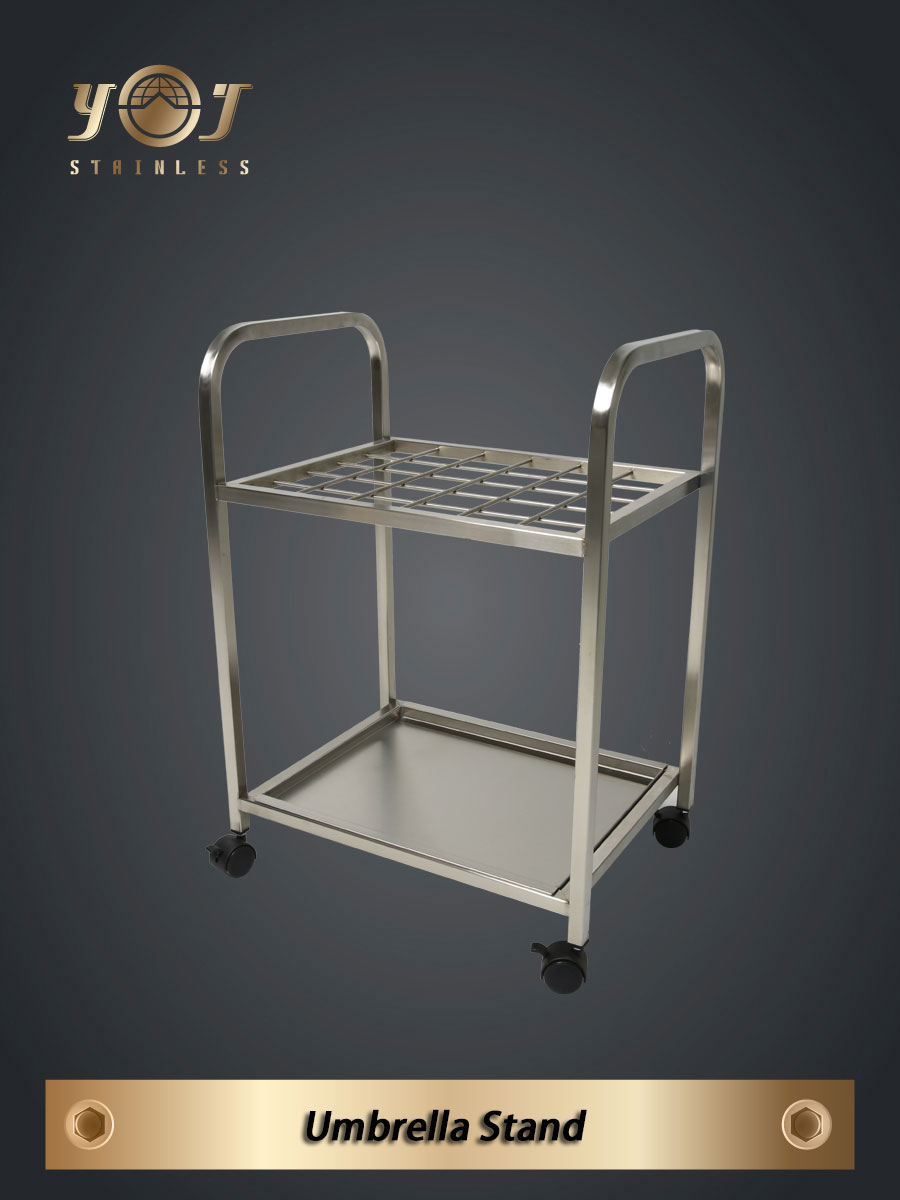 Umbrella Stand stainless