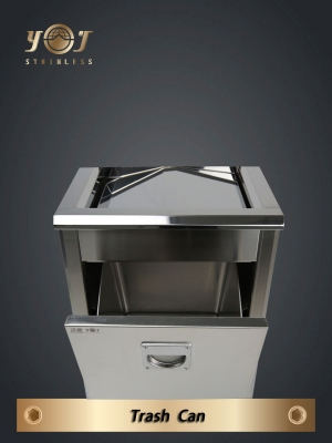 Single-Type Trash Can Series-YJ-60-YJ stainless