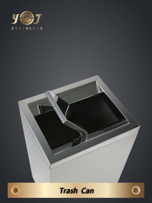 Single-Type Trash Can Series-YJ-501A-YJ stainless