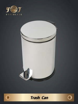 stainless garbage can YJ-589
