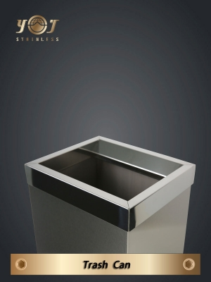 Single-Type Trash Can Series-YJ-710A-YJ stainless