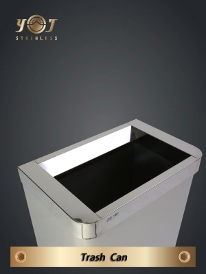 Single-Type Trash Can Series-YJ-720C-YJ stainless