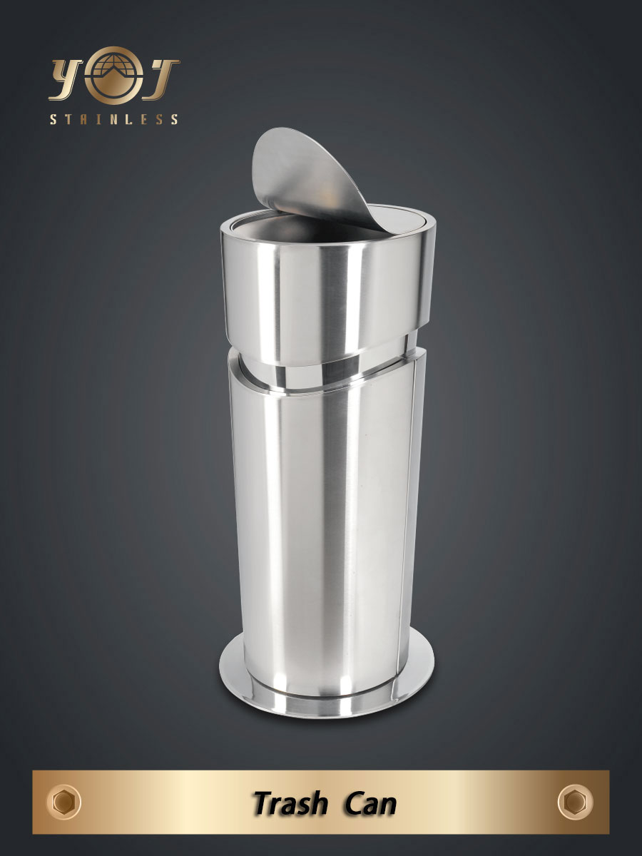 Single-Type Trash Can Series-YJ-999A-YJ stainless