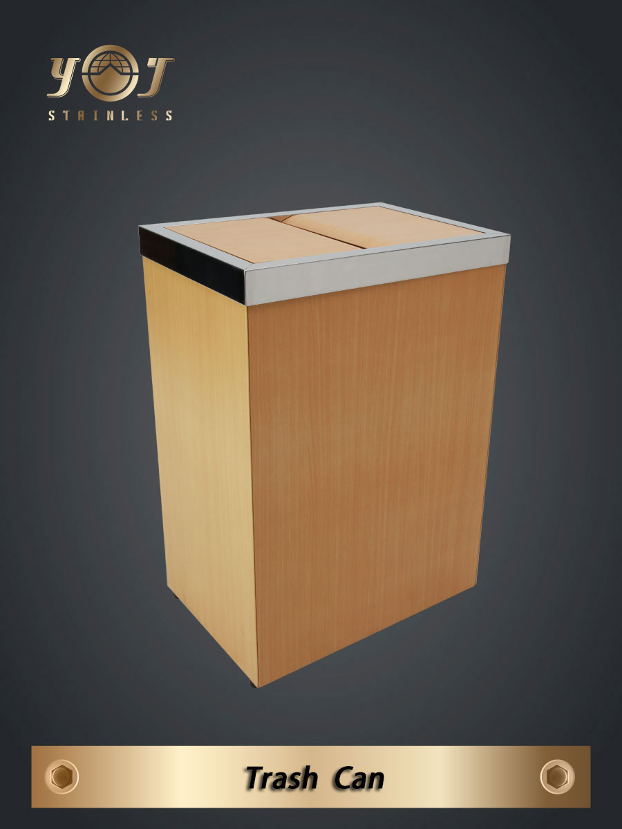 Wood Style Trash Can Series