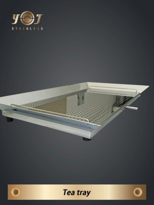 Stainless steel tea tray- TJ-151201 -YJ stainless