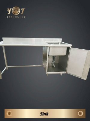 Stainless steel sink- TJ-170915 -YJ stainless