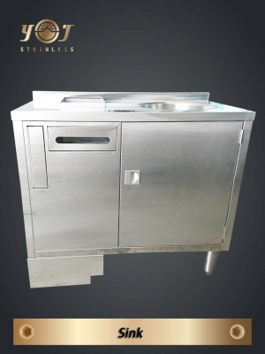 Stainless steel sink- TJ-170936 -YJ stainless
