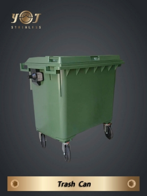 Large refuse containers  660 litres