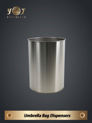 Stainless steel umbrella bucket