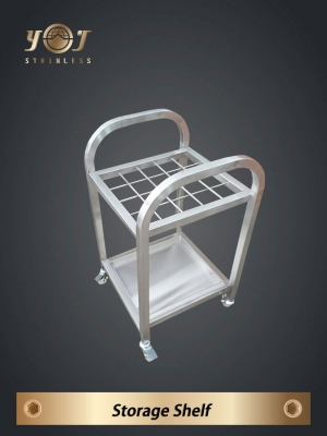 Stainless steel umbrella stand bagging